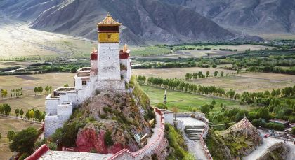 Destination Tsetang in Tibet