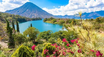 Destination Lake Atitlan in Guatemala
