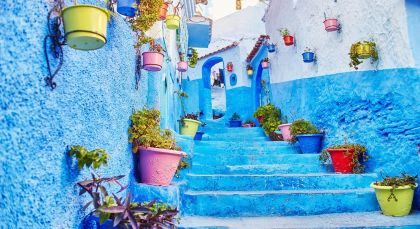 Destination Chefchaouen in Morocco
