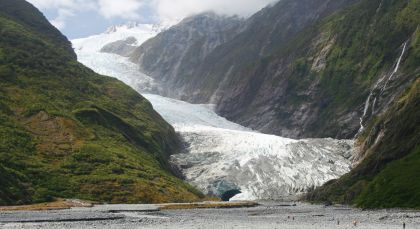 Destination Franz Josef Glacier in New Zealand