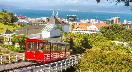 Wellington in Neuseeland