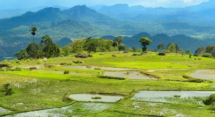 Kapala Pitu Village in Indonesien