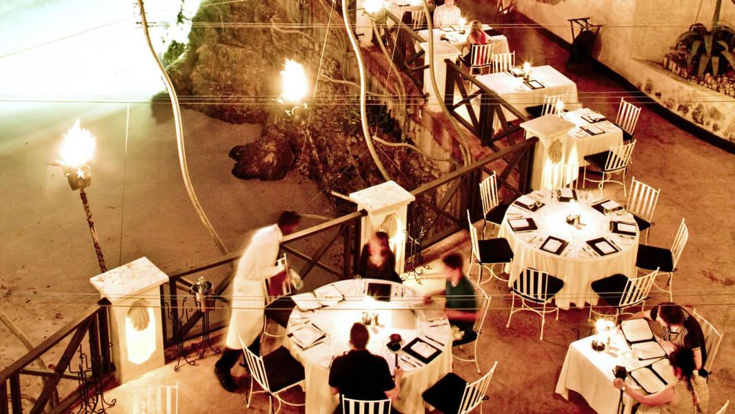 The Cliff Terrace Night Barbados VisitBarbados