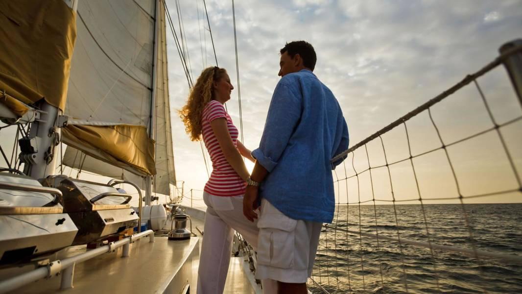 sailing courtesy of visit st
