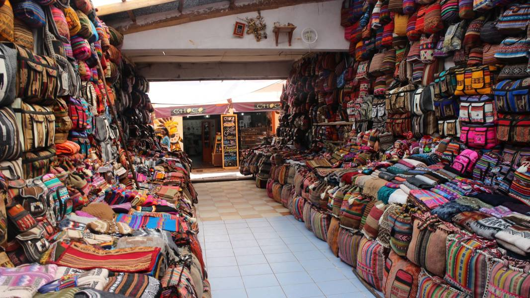 Pisac market Sacred valley Peru trip september
