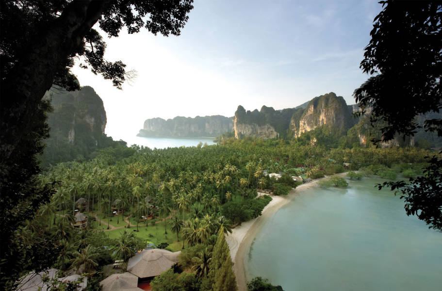 View from Rayavadee
