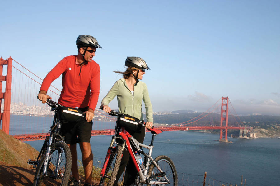 Golden Gate to Sausalito Cycling tour