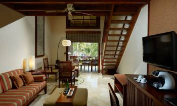 this is a photo of The Level Junior Suite at Melia Bali Indonesia