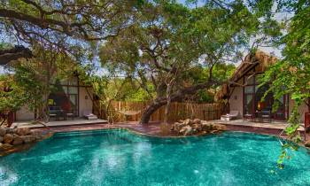 Cluster chalets and private pool
