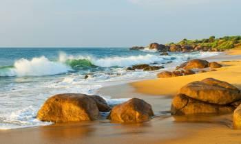 Beach, Chena Huts