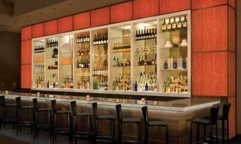 Mulino Bar and lounge area