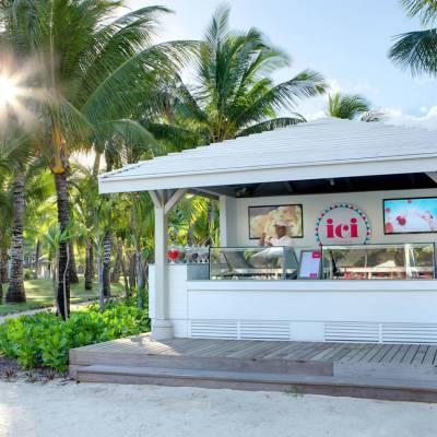 Lux* Belle Mare ICI ice cream parlour