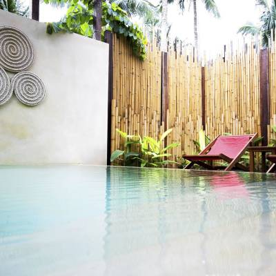 Private pool of Garden Pool Suite