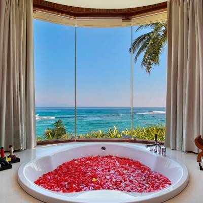 this is a photo of the Ocean Spa at Candi Beach Resort and Spa, Bali