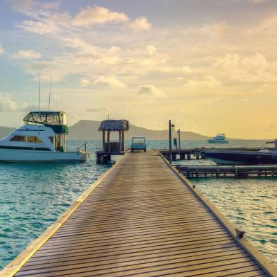 Island jetty