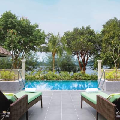 One Bedroom Partial Ocean View Pool Villa