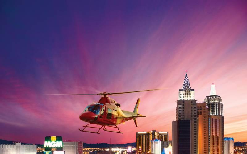 Heli Tour Over Vegas