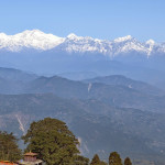 Das schönste Himalaja Panorama auf Indien Reisen: Darjeeling
