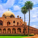 Humayun's Tomb is one of Delhi's major attractions.