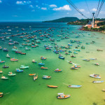 The Longest Cable Car Phu Quoc Island Vietnam Asia