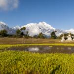 Tibet Shigatse Gyironggou scenery Asia
