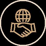 Globe Handshake