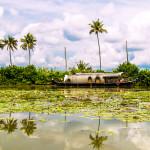 Alleppey Hausboot in Indien