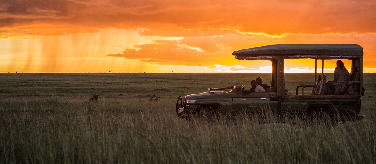 Enchanting Travels - Kenya Tours - Masai Mara - Mara Plains Camp - Sunset in the Olare Motorogi Conservancy