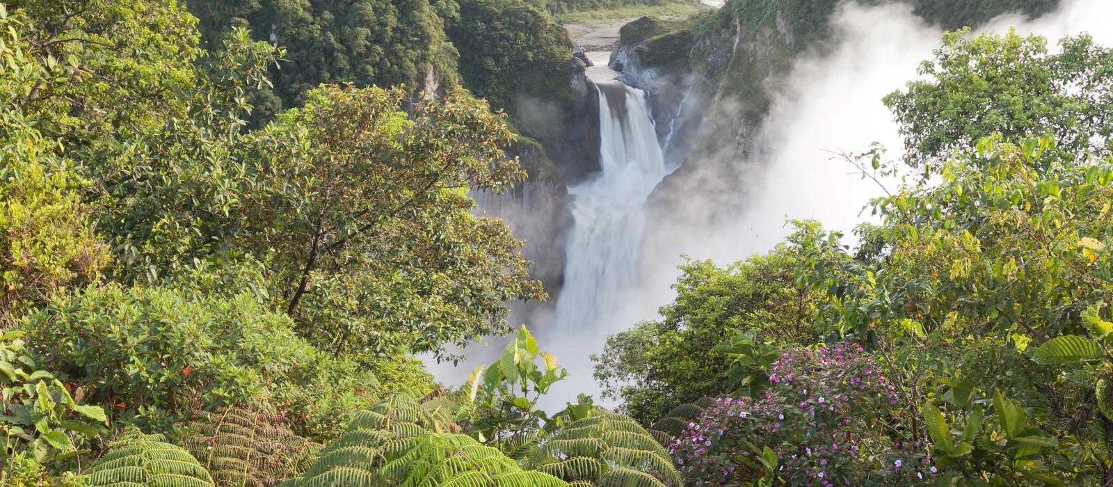 San Rafael Falls größter Wasserfall in Ecuador, Südamerika