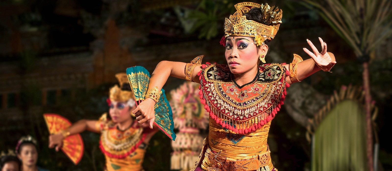 Traditional Balinese Legong Dance Performance in Ubud, Bali