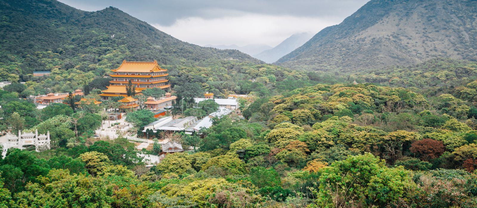 Po Lin Kloster, Hongkong, Asien