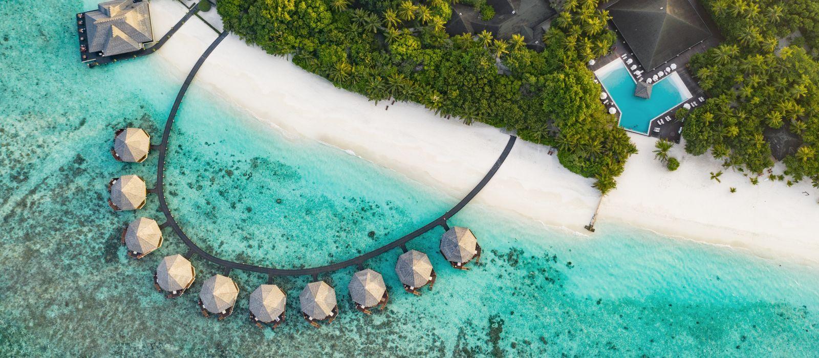 Maldives Aerial View Islands Beach