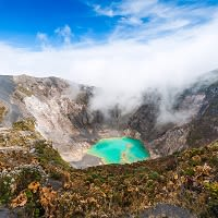 Irazu Volcano, Central-America, Costa-Rica