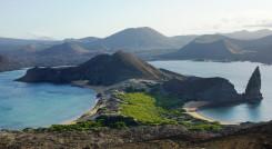 Amazing view in Bartolome Island, Galapagos Islands, Ecuador, South America