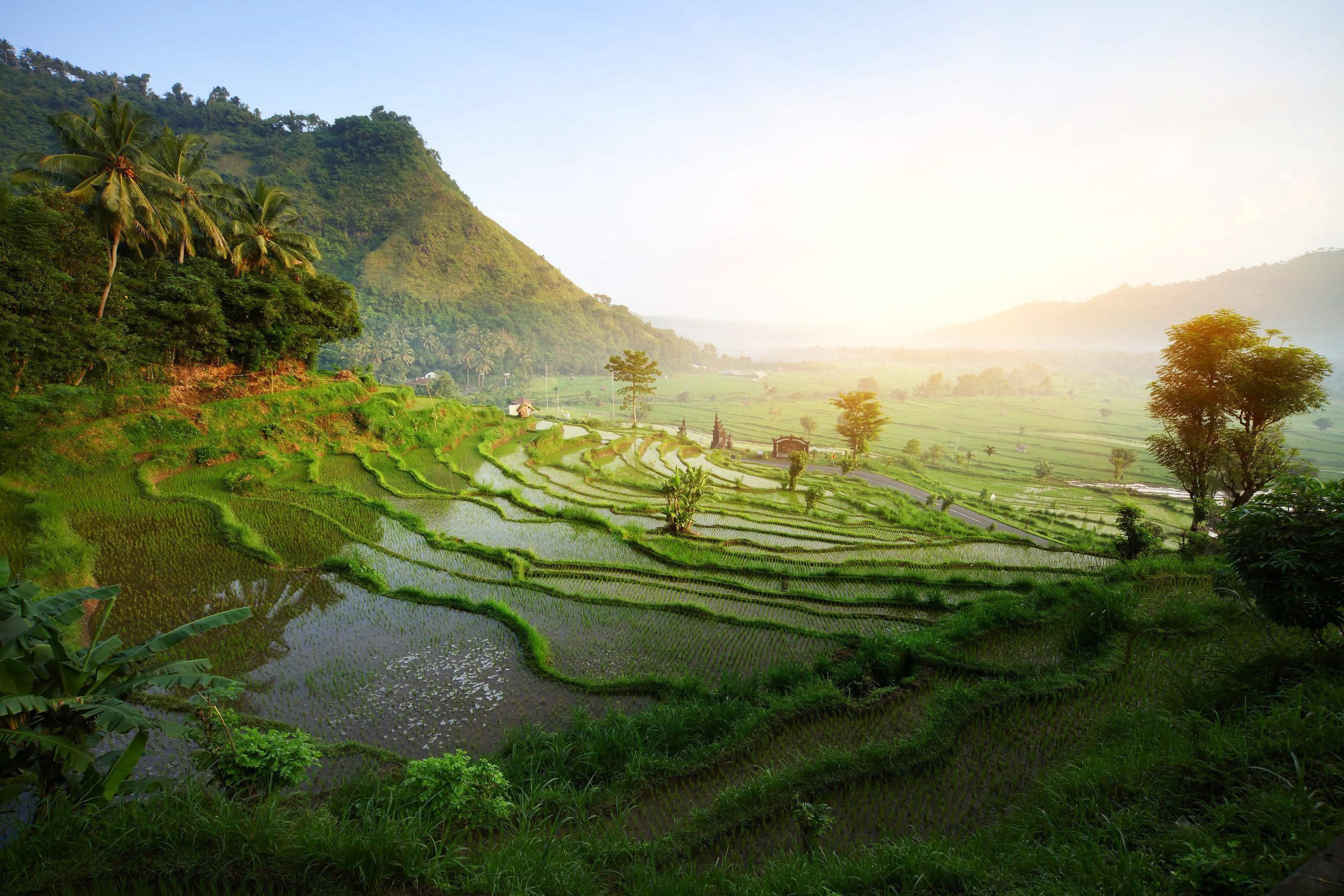 Indonesien Rundreise Wetter