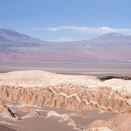 Moon valley landscape, San Pedro De Atacama, Chile, South America