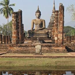 Statue in Sukhothai, Thailand