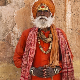 History of North India: Holy man