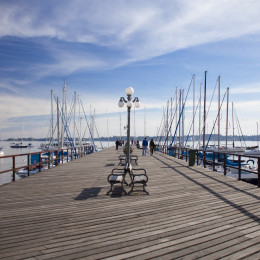 Colonia del Sacramento harbour, Uruguay, South America