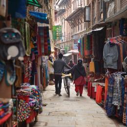 Kathmandu market - Nepal travel guide