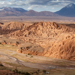 Wonderful Catarpe valley, San Pedro De Atacama, Chile