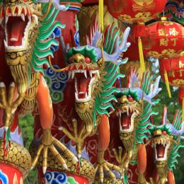 Dragon, China, Asia