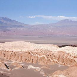 Moon valley landscape, San Pedro De Atacama, Chile, South America