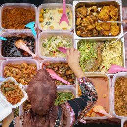 Indonesien Street Food