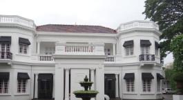 Außenansicht im Tintagel Hotel in Colombo, Sri Lanka