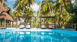 Pool at Butiama Beach Lodge in Mafia Island, Tanzania