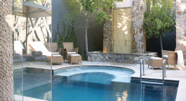 Pool at The Saxon , Villas & Spa Hotel in Johannesburg, South Africa