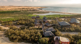Enchanting Travels Namibia Tours Swakopmund Hotels The Stiltz Aerial