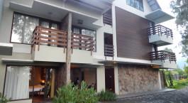 Außenansicht im Jiwa Jawa Resort Bromo Hotel in Indonesia, Mount Bromo
