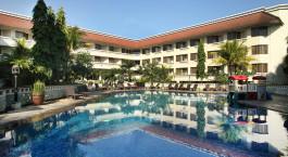 Außenansicht im Santika Hotel in Indonesien, Yogyakarta